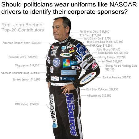 sponsors politicos