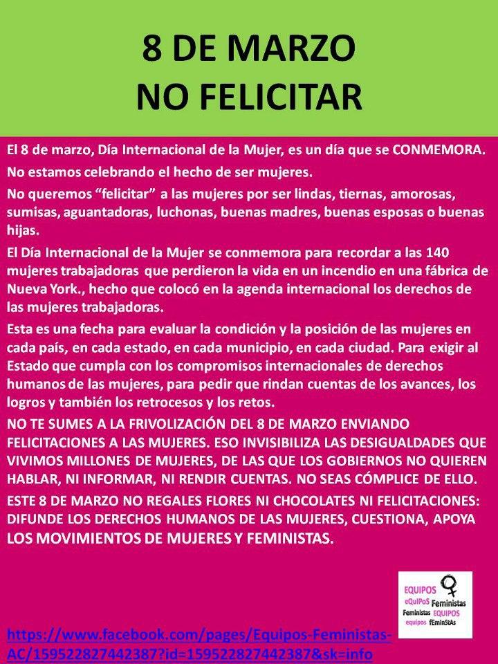 Giusseppe Domínguez Día De La Mujer Trabajadora